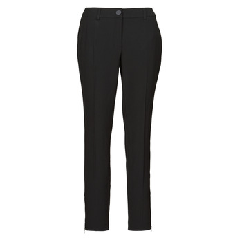 Clothing Women 5-pocket trousers Guess ZOE PANTS Black