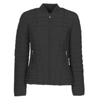 Clothing Women Duffel coats Guess VERA JACKET Black