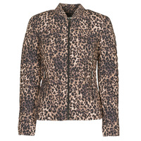 Clothing Women Duffel coats Guess VERA JACKET Leopard