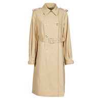 Clothing Women Trench coats Guess PEGGY TRENCH Beige