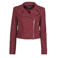 Clothing Women Leather jackets / Imitation leather Guess NEW KHLOE JACKET Bordeaux
