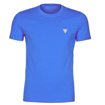 Clothing Men Short-sleeved t-shirts Guess CN SS CORE TEE Blue