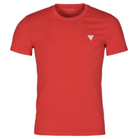 Clothing Men Short-sleeved t-shirts Guess CN SS CORE TEE Red