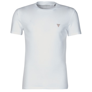 Clothing Men Short-sleeved t-shirts Guess CN SS CORE TEE White