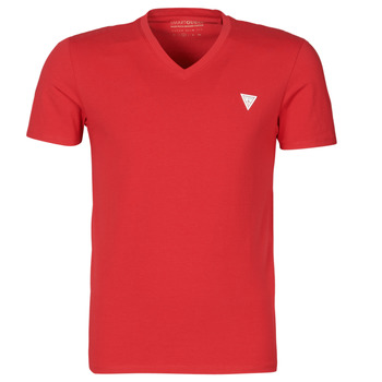 Clothing Men Short-sleeved t-shirts Guess VN SS CORE TEE Red