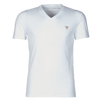 Clothing Men Short-sleeved t-shirts Guess VN SS CORE TEE White