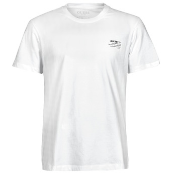 Clothing Men Short-sleeved t-shirts Guess ORGANIC BASIC CN SS TEE White