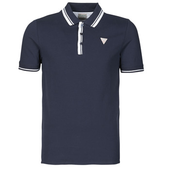 Clothing Men Short-sleeved polo shirts Guess SCOTT SS POLO Marine
