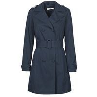 Clothing Women Trench coats Naf Naf BISA Marine