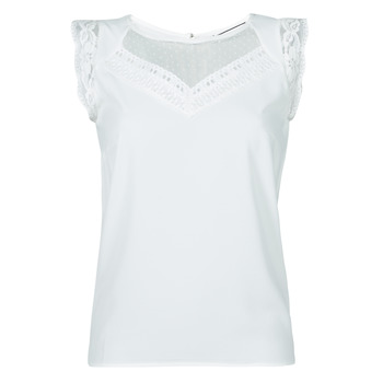 Clothing Women Tops / Blouses Naf Naf OSWANITA White