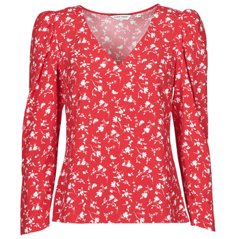 Clothing Women Tops / Blouses Naf Naf COLINE C1 Red