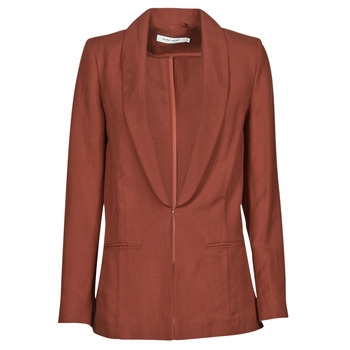 Clothing Women Jackets / Blazers Naf Naf LINONOU V2 Terracotta