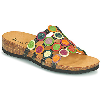 Shoes Women Sandals Think JULIA Red / Green