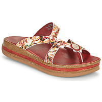Shoes Women Sandals Think ZEGA White / Red