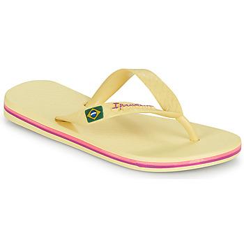 Shoes Children Flip flops Ipanema IPANEMA CLAS BRASIL II KIDS Yellow
