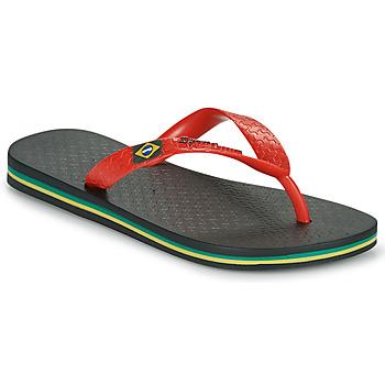 Shoes Children Flip flops Ipanema IPANEMA CLAS BRASIL II KIDS Black / Red