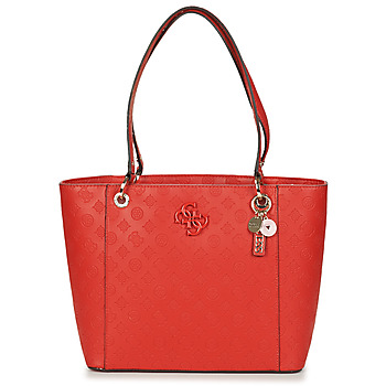 Bags Women Shopping Bags / Baskets Guess NOELLE ELITE TOTE Red