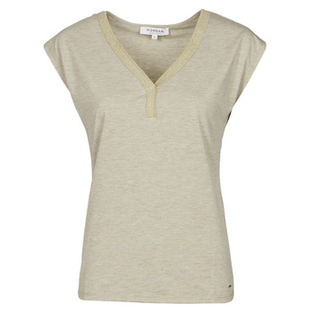 Clothing Women Short-sleeved t-shirts Morgan DMAYA Beige