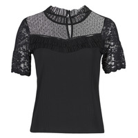 Clothing Women Short-sleeved t-shirts Morgan DANY Black