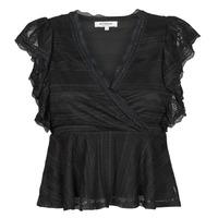 Clothing Women Tops / Blouses Morgan DARLEY Black