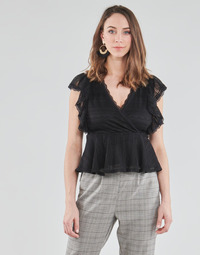 Clothing Women Tops / Blouses Morgan DARLEY Black