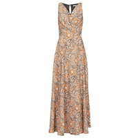 Clothing Women Long Dresses Morgan ROLOR Beige