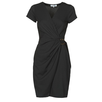 Clothing Women Short Dresses Morgan RKEIRA Black