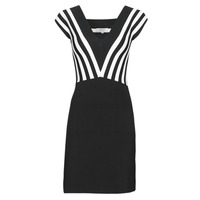 Clothing Women Short Dresses Morgan RMUST Black / White
