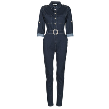 Clothing Women Jumpsuits / Dungarees Morgan PGILI Blue / Dark