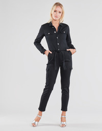 Clothing Women Jumpsuits / Dungarees Morgan PALERMA Black