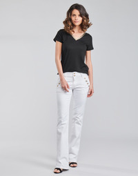 Clothing Women 5-pocket trousers Morgan PFARAH White