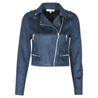 Clothing Women Leather jackets / Imitation leather Morgan GRAMMY Marine