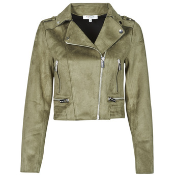 Clothing Women Leather jackets / Imitation leather Morgan GRAMMY Green