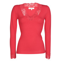 Clothing Women Long sleeved tee-shirts Morgan TRACY Red