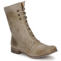 Shoes Women Mid boots Stephane Gontard REGAIN Lime