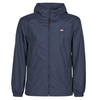 Clothing Men Macs Tommy Jeans TJM PACKABLE WINDBREAKER Marine