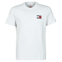 Clothing Men Short-sleeved t-shirts Tommy Jeans TJM TOMMY BADGE TEE Grey