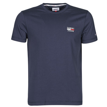 Clothing Men Short-sleeved t-shirts Tommy Jeans TJM CHEST LOGO TEE Marine
