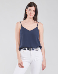 Clothing Women Tops / Blouses Tommy Jeans TJW CAMI TOP Marine