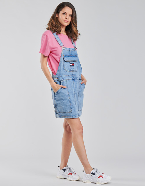 Tommy Jeans CARGO DUNGAREE DRESS TJLLBC