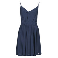 Clothing Women Short Dresses Tommy Jeans TJW ESSENTIAL STRAP DRESS Marine