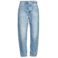 Clothing Women Boyfriend jeans Tommy Jeans MOM JEAN ULTRA HR TPRD EMF SPLBR Blue / Clear