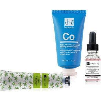 Beauty Hydrating & nourrishing  Dr Botanicals Complete Facial Gift set