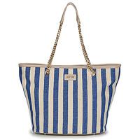 Bags Women Shopping Bags / Baskets Liu Jo SICURA XL TOTE Beige / Blue