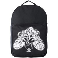 Bags Rucksacks adidas Originals Superstar Sneaker BP Black