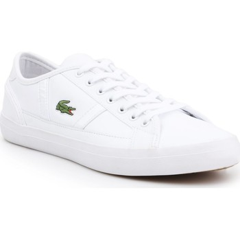 Shoes Men Low top trainers Lacoste Sideline 219 2 JD CMA 7-37CMA012921G white