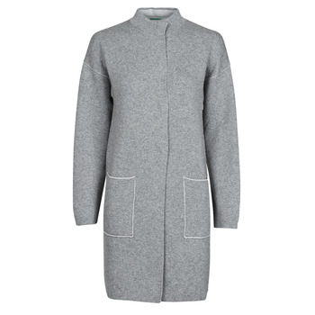 Clothing Women Coats Benetton 1132E9071-507 Grey