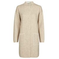 Clothing Women Coats Benetton 1132E9071-62U Beige