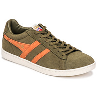 Shoes Men Low top trainers Gola EQUIPE SUEDE Kaki / Orange