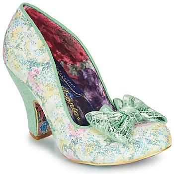 Shoes Women Heels Irregular Choice NICK OF TIME Green